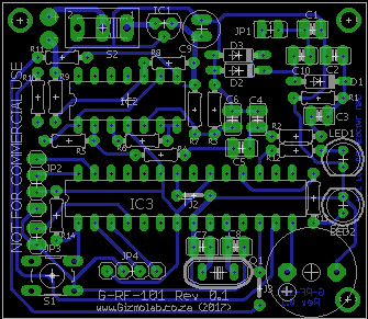 Sample of the PCB Layout